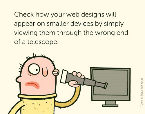 Responsive Web Design is Hard to Explain Sometime