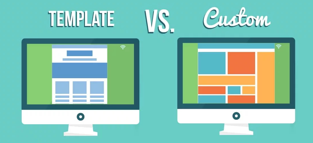 Template Vs Custom Web Design